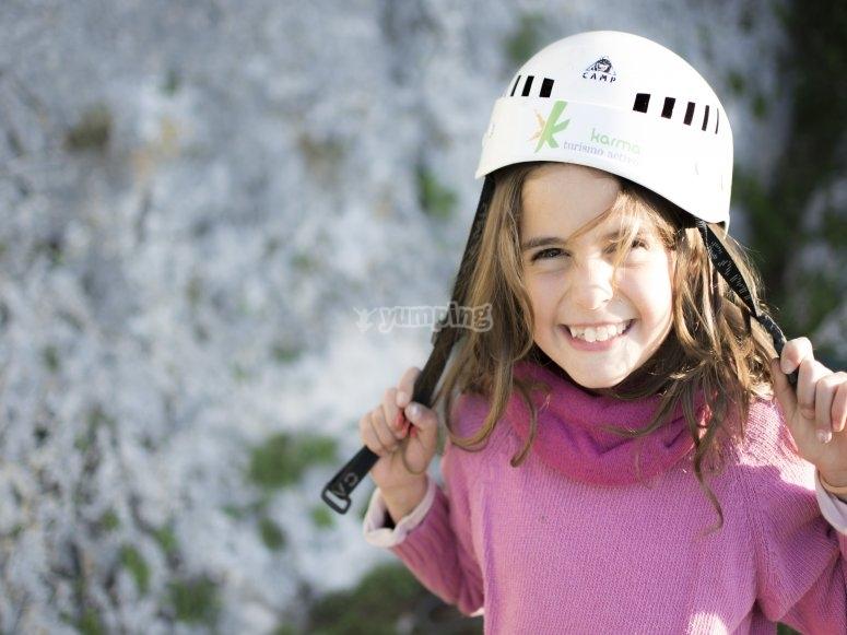 Iniziazione all'arrampicata Cerro del Hierro