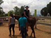 Terapia con caballos en La Mata