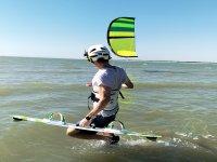 埃尔波多黎各2小时私人风筝冲浪入门课程