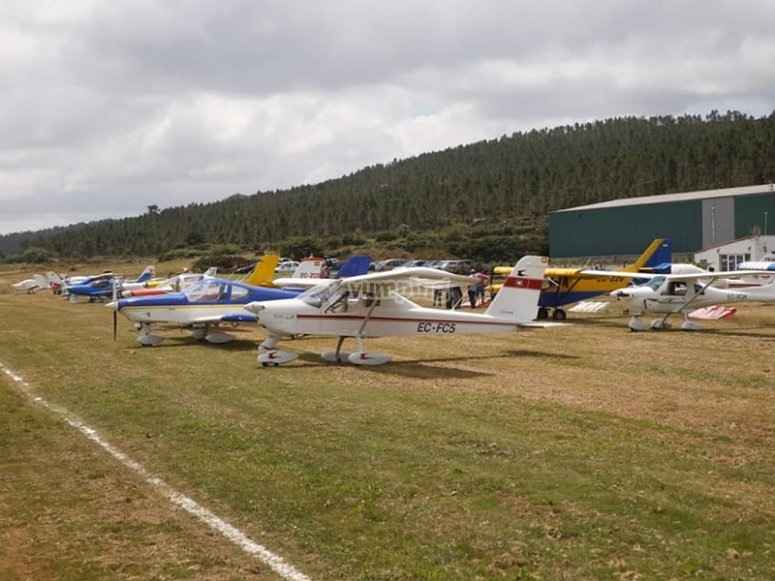 Flight by plane by Mazaricos