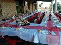 Mesa para despedida de soltero en Tomelloso