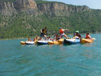 Pasando de canoa en canoa