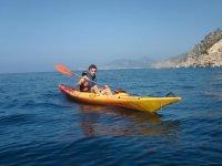 Kayak excursion in Mallorca