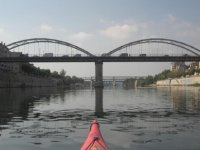 Llegamos al puente