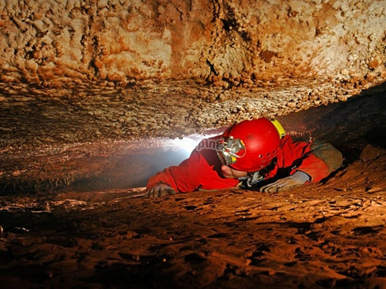 Caving route