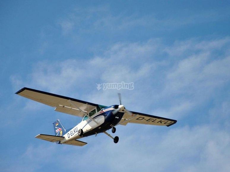 上空飞行-在卡塞雷斯