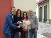 Film tour visitors