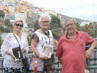 Visitors to the El Corredera route