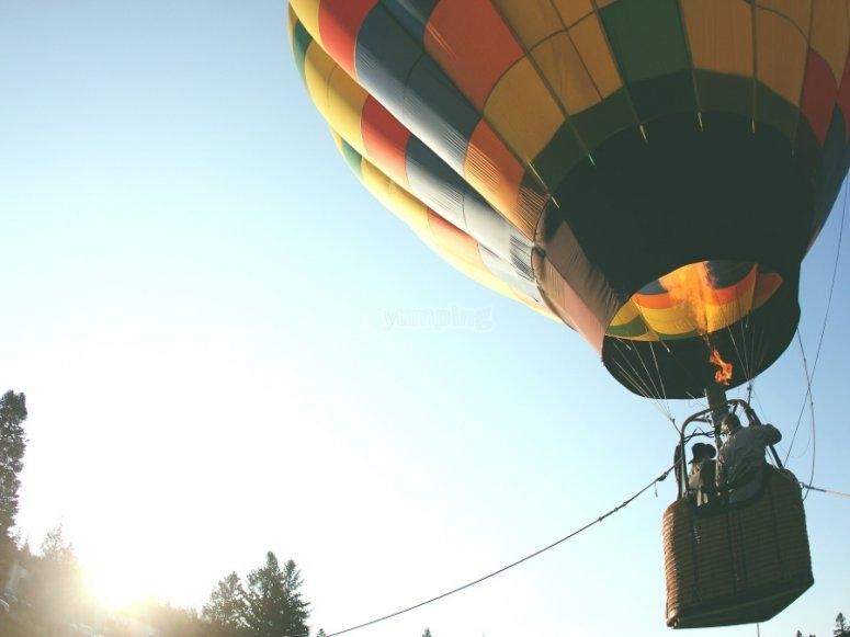 Balloon rides for the whole family through Segovia