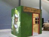 Oficina de correos en el campo 1