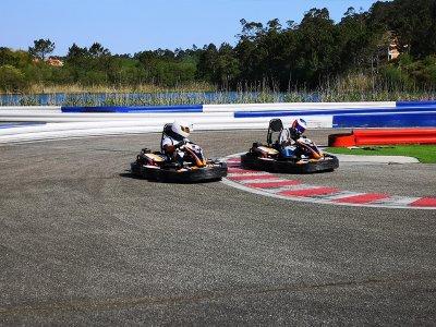 Sessione di kart RX8 390cc a Sanxenxo Outdoor 8 min