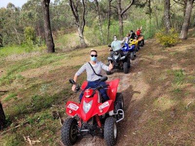 Itinerario in quad a due posti attraverso Sanxenxo 1 ora