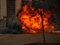 Fuego real en partida de airsoft