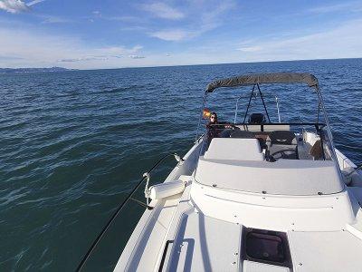 Ruta en barco desde Jávea a Cova Tallada y a calas