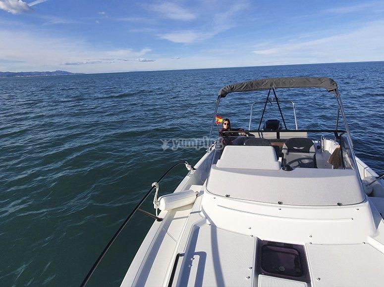 Salida en barco por Jávea