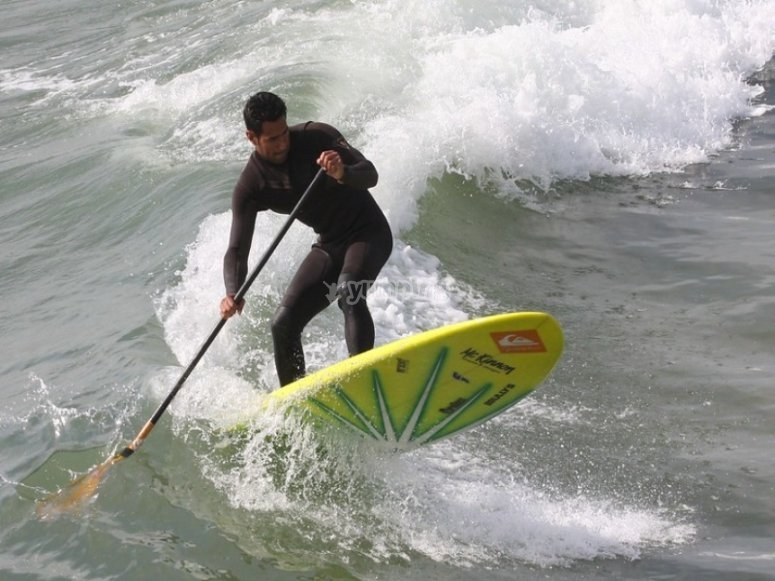 Rental of SUP equipment in Alicante