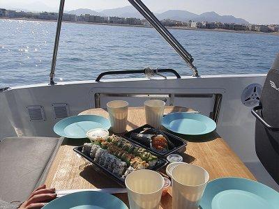Alquiler de barco por Jávea con patrón 4 horas