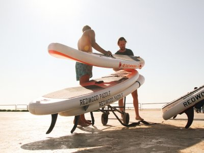 SUP equipment rental in La Mata beach 2h