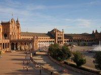 Vista general de la Plaza de Espana