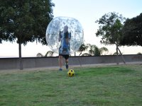 Jugador de futbol burbuja