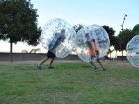 Chocando con las burbujas