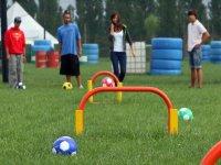 Soccer football game