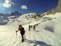 Raquetas de nieve en Cantabria para grupos