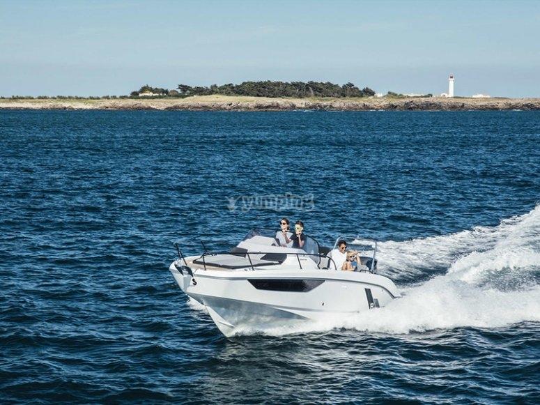 Ruta en barco a Cova Tallada