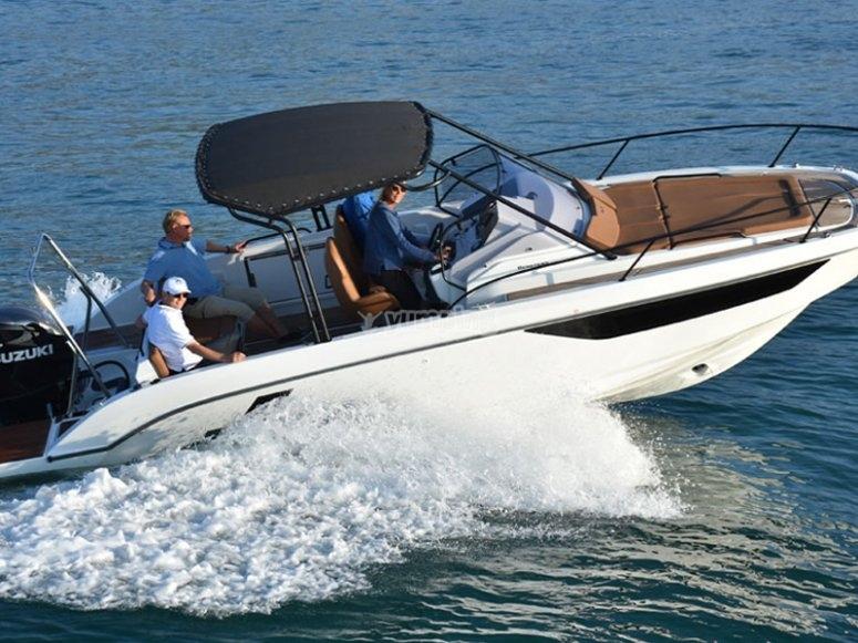 Paseo en barco a Cala Portixol