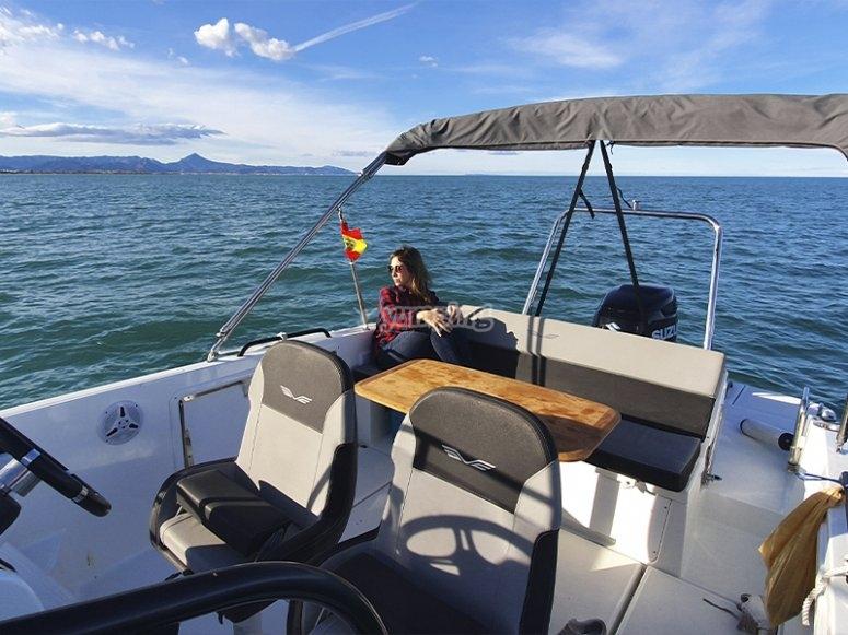 Listos para un paseo en barco