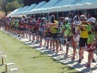Competidores tiro al arco