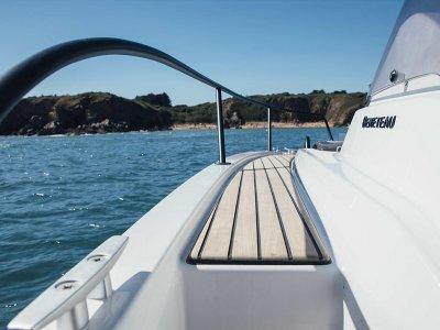 Alquiler de barco por Dénia con patrón 4 horas
