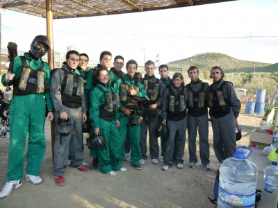 Paintball Minuto Despedidas de Soltero