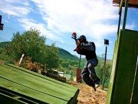 salto entre obstaculos
