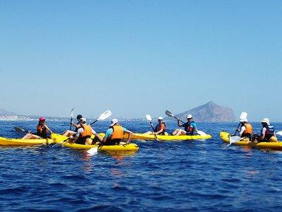 La Caleta海滩上的皮划艇租赁1小时