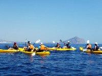 Kayak rental on the beach of La Caleta 1 hour