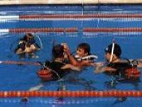 Inmersión en piscina