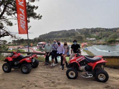 Itinerario in quad per adulti e bambini a Sanxenxo 1 ora