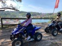 Itinerario in quad per adulti e bambini attraverso Sanxenxo 30min