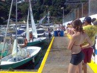 Clase practica montaje de barcos