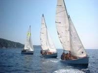 Navegando en ceñida