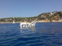 Practica volcaje de barco