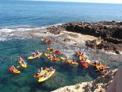 皮艇租赁在Playa de Valdelagrana 1小时