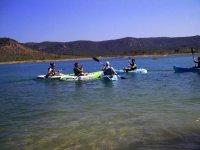 Kayaks para despedidas