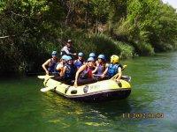 Rafting para despedidas de soltero