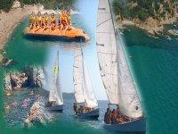 Water skiing-Colonies Cala Canyelles
