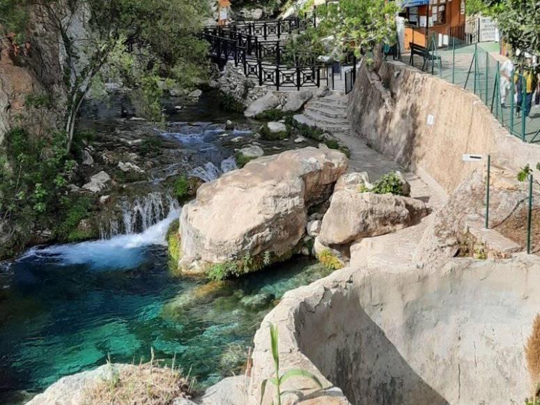 的意见阿尔加喷泉
