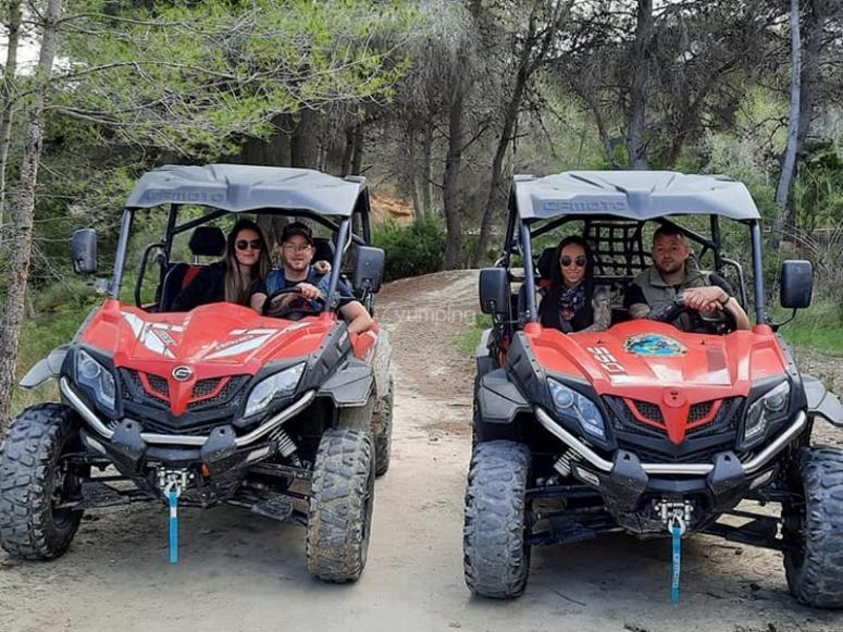 越野车游览贝尼多姆到富恩特斯德尔阿尔加