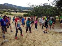 Flashmob en el campamento de musica