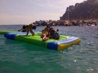 Juegos playa-plataforma